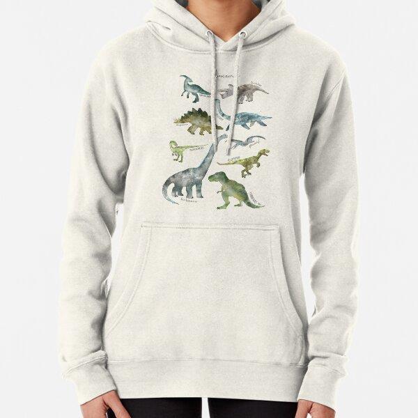 Dinosaurs Pullover Hoodie