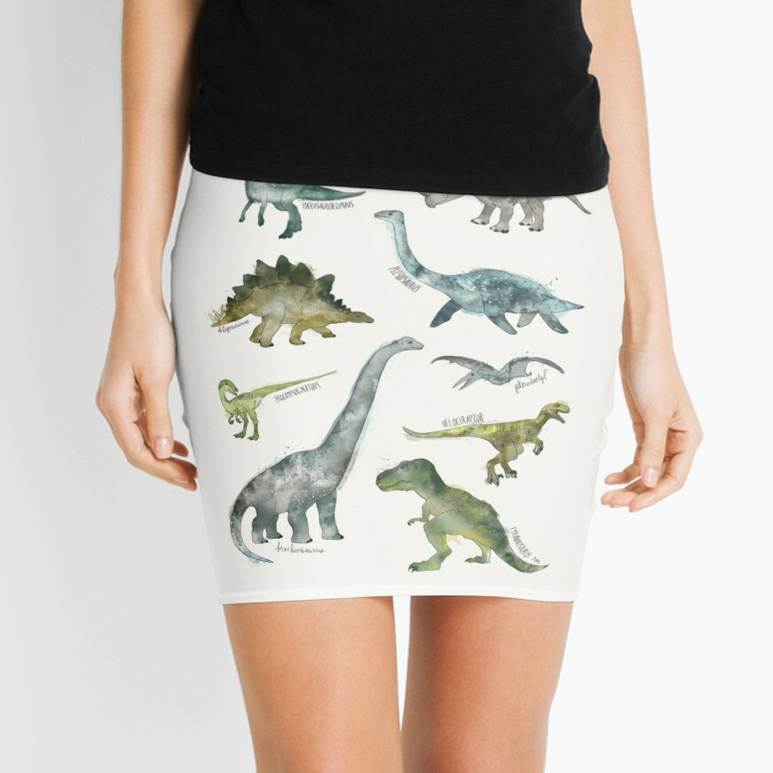 Dinosaurs Mini Skirt