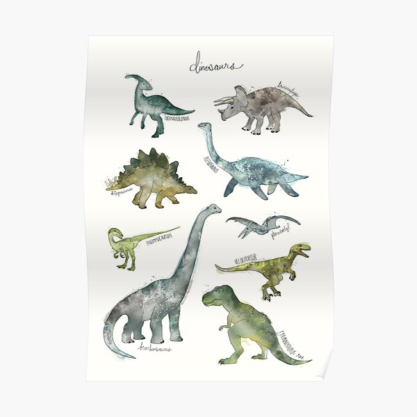 Dinosaures Poster