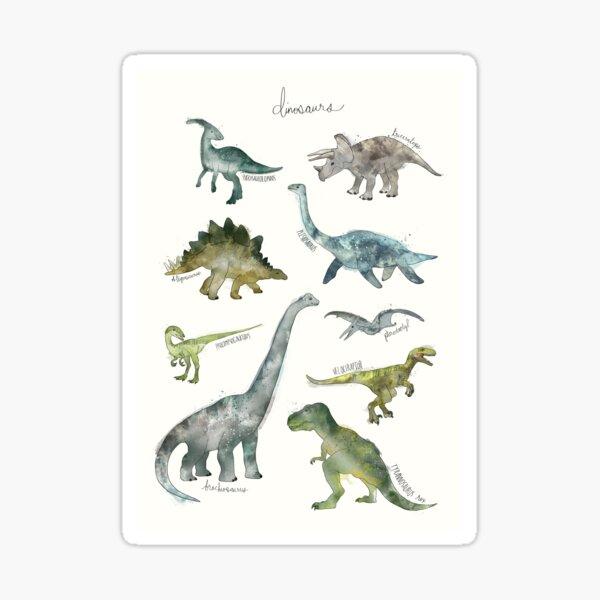 Dinosaurios Pegatina