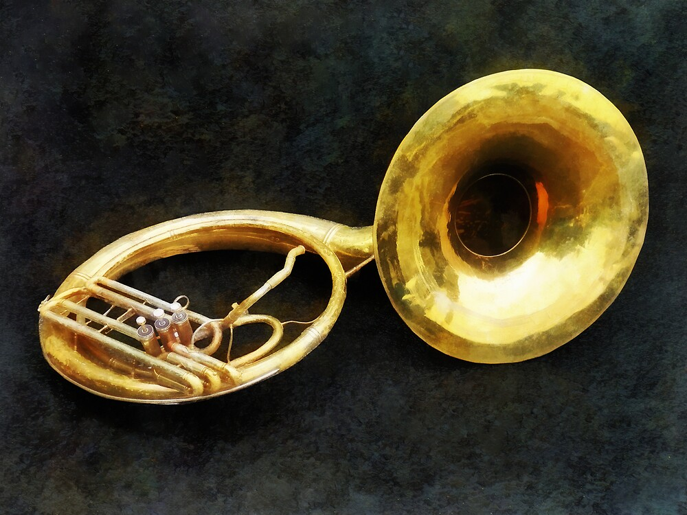 Sousaphone by Susan Savad