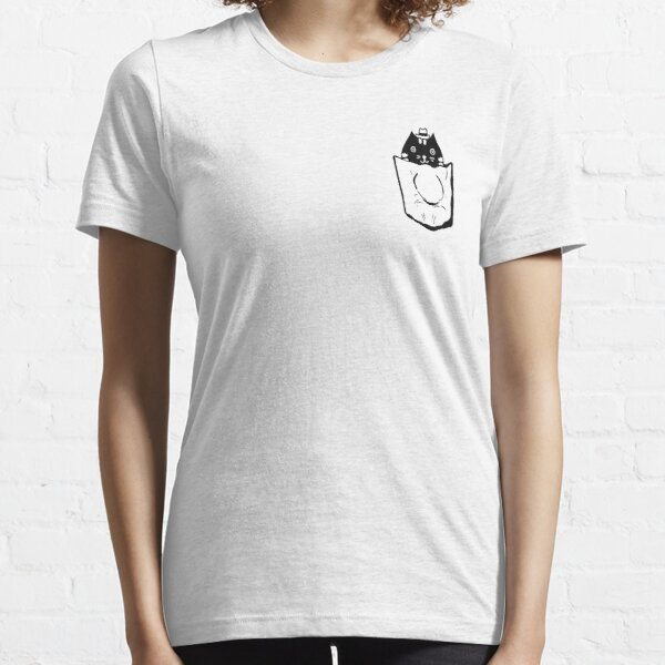 Cat In Pocket Essential T-Shirt