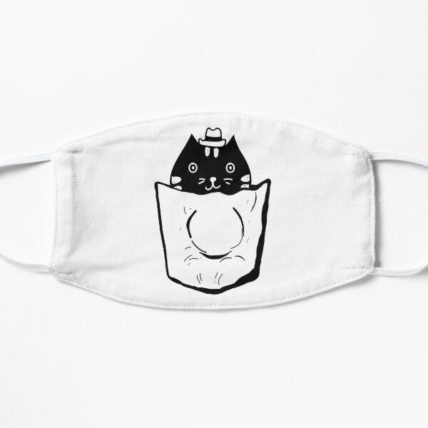 Cat In Pocket Mask