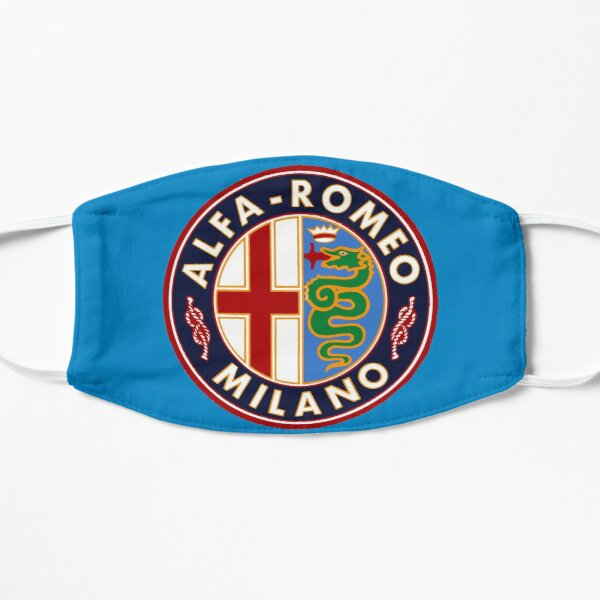 Antique Alfa-Romeo Classic Car Sign Mask