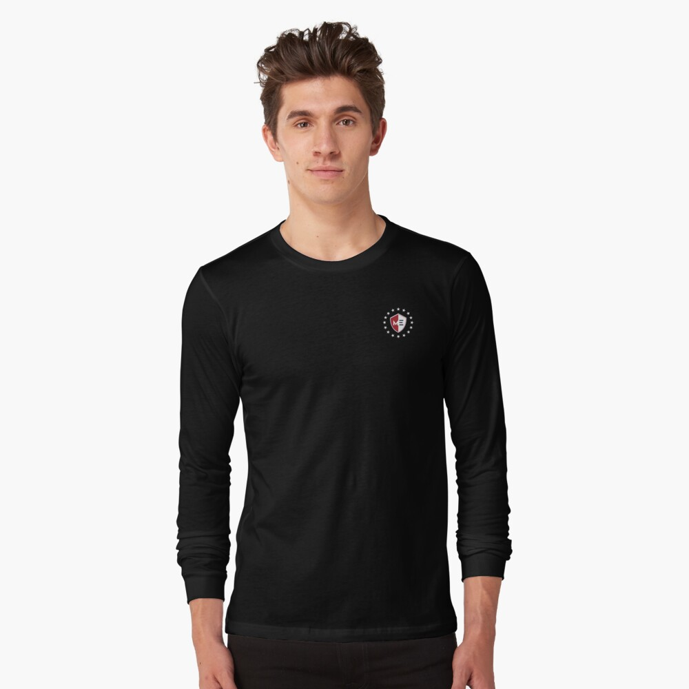 Maxx Exchange, Stars of Honor, American Pride. Long Sleeve T-Shirt