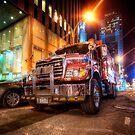 Mack Truck NYC by Yhun Suarez