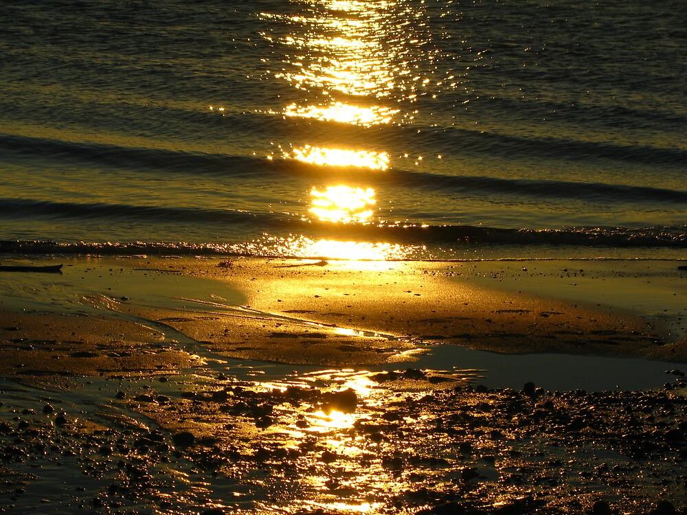 Golden Sunset by OffOn