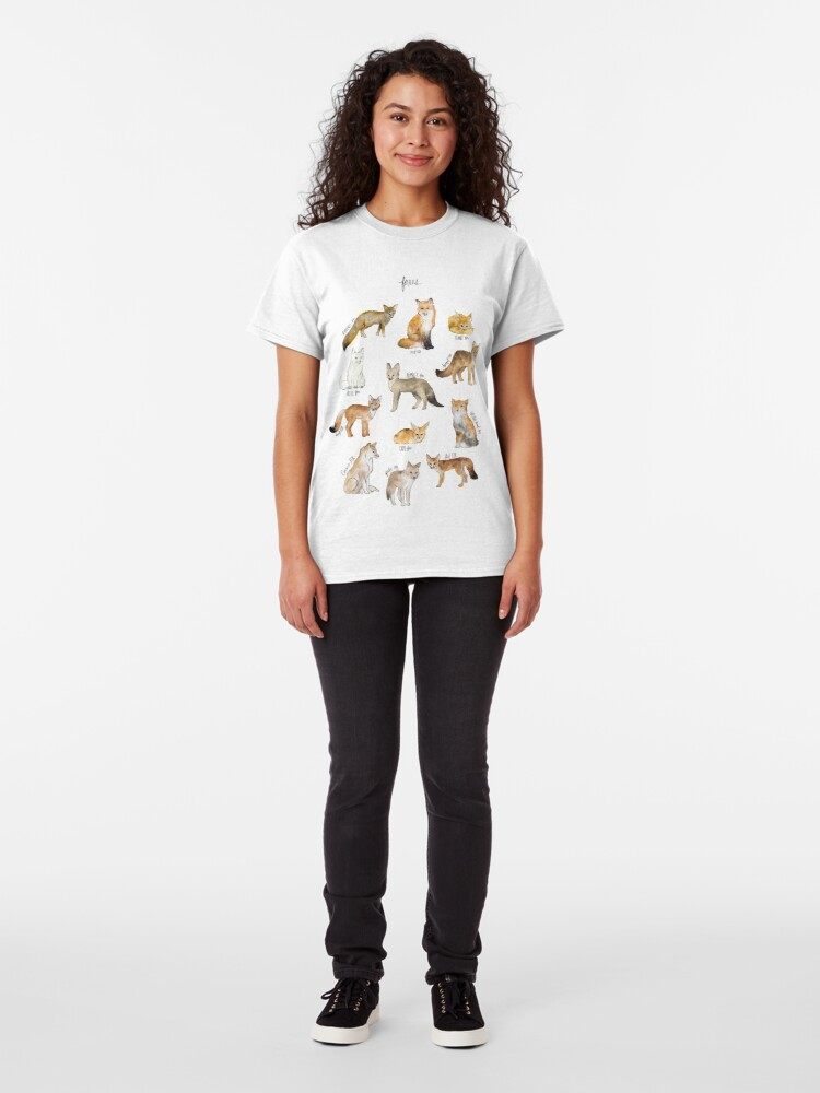 Alternate view of Foxes Classic T-Shirt