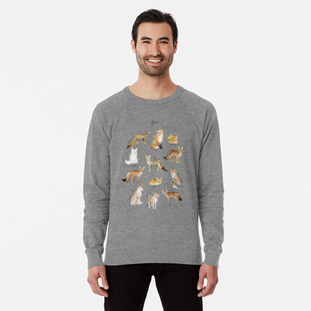 Foxes Lightweight Sweatshirt