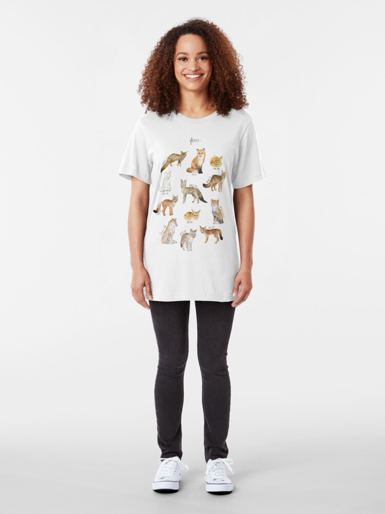 Alternate view of Foxes Slim Fit T-Shirt