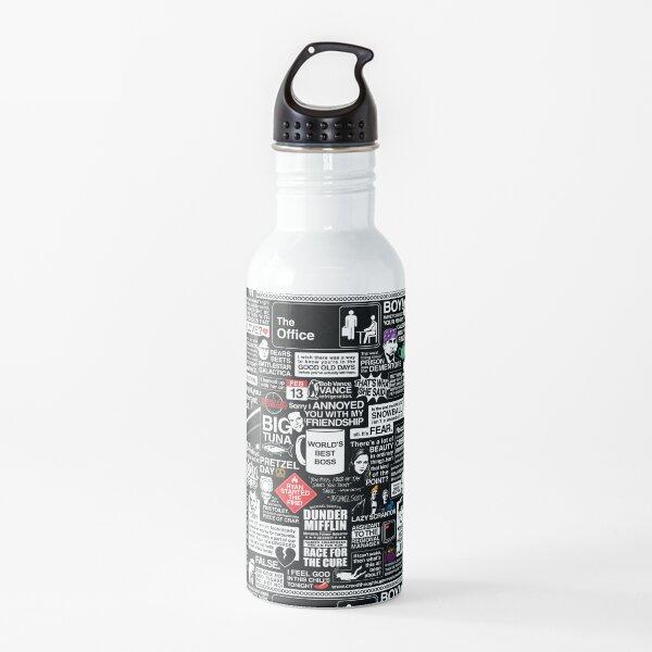 Palabras sabias de la oficina - Las citas de la oficina Botella de agua