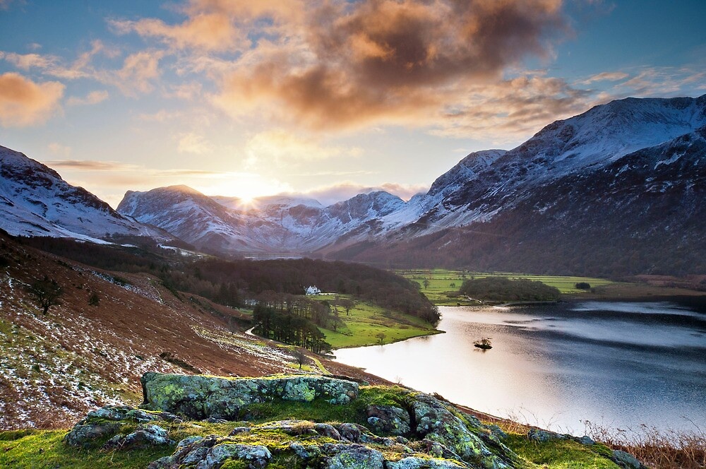 buttermere sunrise by paul mcgreevy