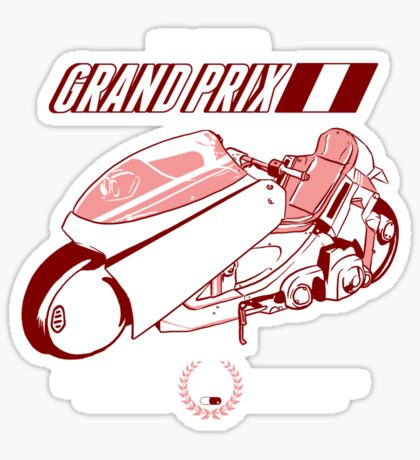 Neo Tokyo Grand Prix Sticker