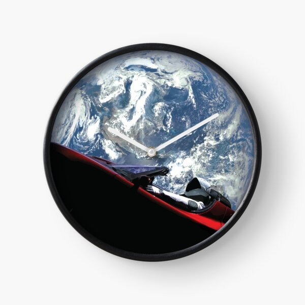 SpaceX Starman Clock