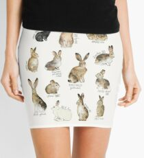 Rabbits & Hares Mini Skirt