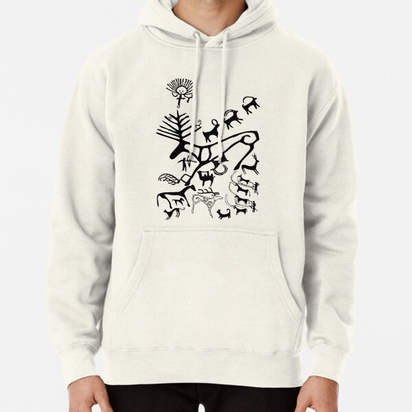 Men Sweatshirt Pirate Colorful Repeating Adventure 3D Digital Printing Funny Hoodie Pullover with Pockets