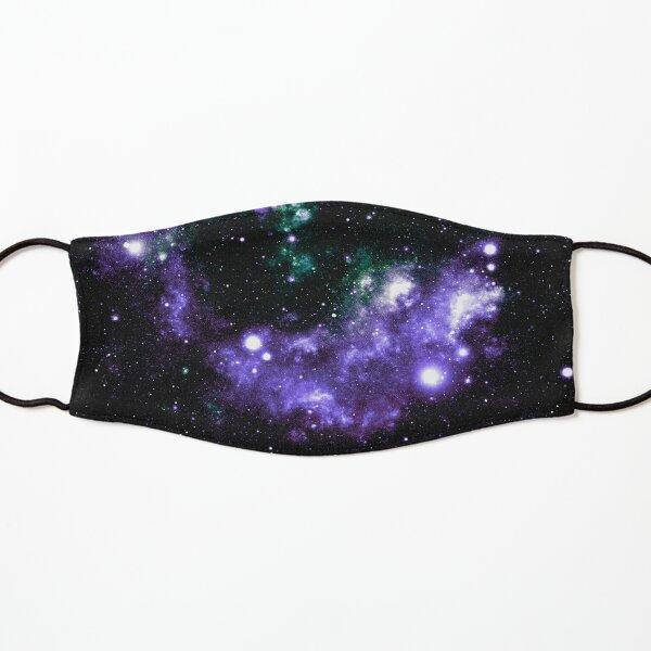 Galaxy Nebula Purple Teal Green  Kids Mask