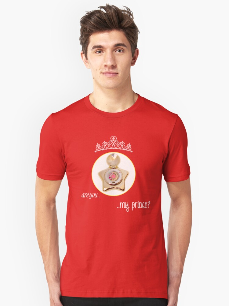 Are you my Prince? Unisex T-Shirt Front