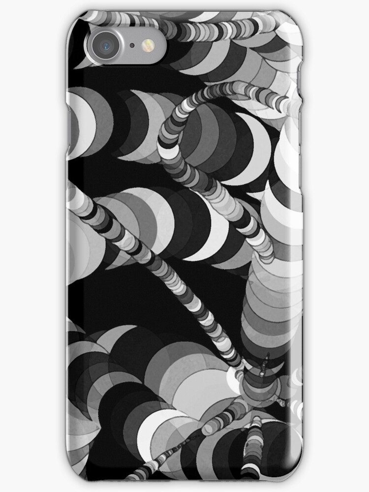 Black and White Worms by Shawna Rowe