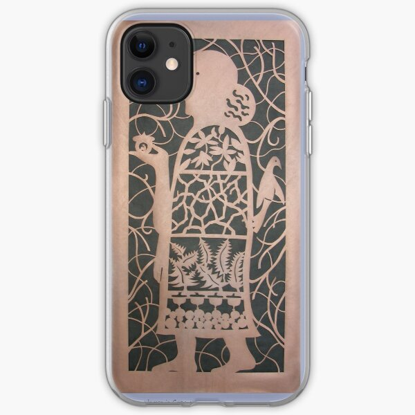 The Acorn Woman in Copper iPhone Soft Case