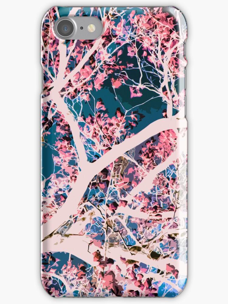 White Magnolia Tree by Shawna Rowe