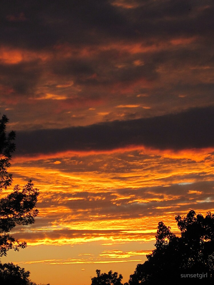 God's Evening Painting by sunsetgirl
