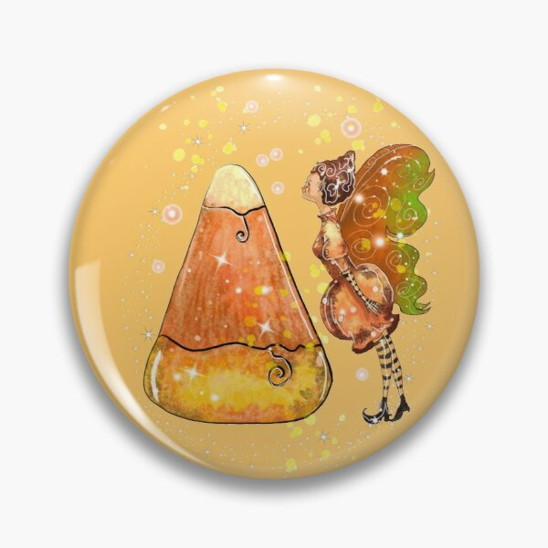 Kindy The Candy Corn Ball Fairy™ Pin