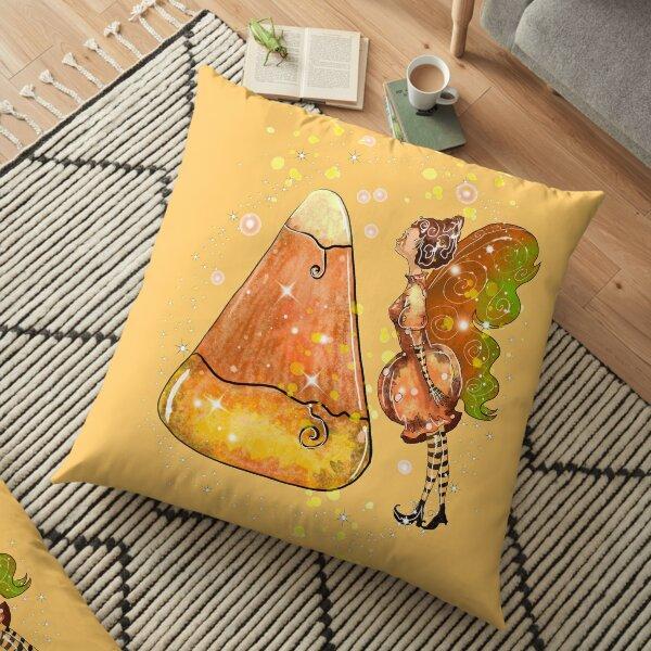 Kindy The Candy Corn Ball Fairy™ Floor Pillow