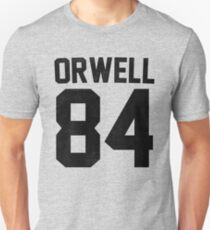 Orwell 84 Jersey - Black Slim Fit T-Shirt