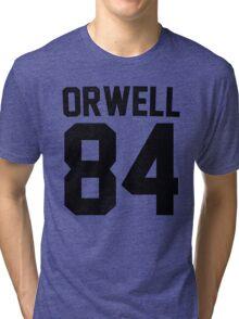 Orwell 84 Jersey - Black Tri-blend T-Shirt
