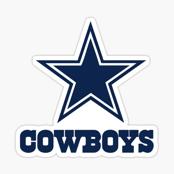 cowboys-dallas  Sticker