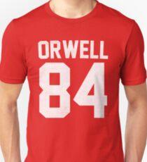 Orwell 84 Jersey - White T-Shirt