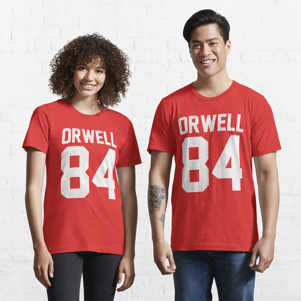 Orwell 84 Jersey - White Essential T-Shirt