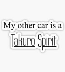 Takuro Spirit 2 Sticker