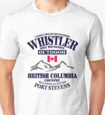 Whistler Ski Resort - British Columbia - Canada T-Shirt