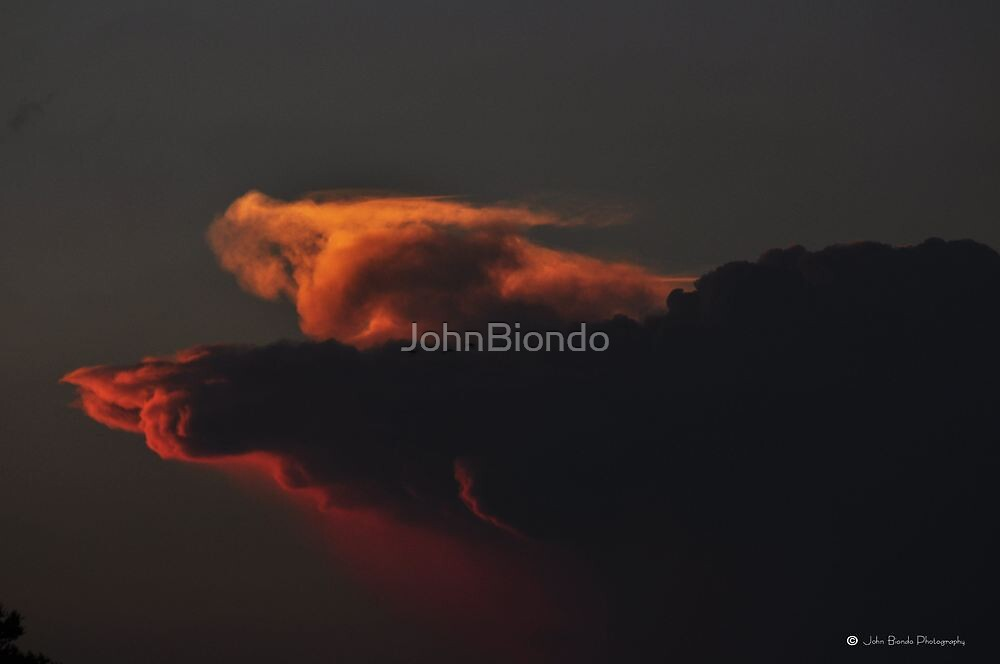Dragon Clouds by JohnBiondo