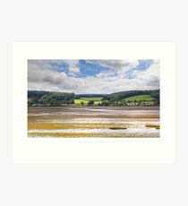 Dawlish Warren, Devon Art Print