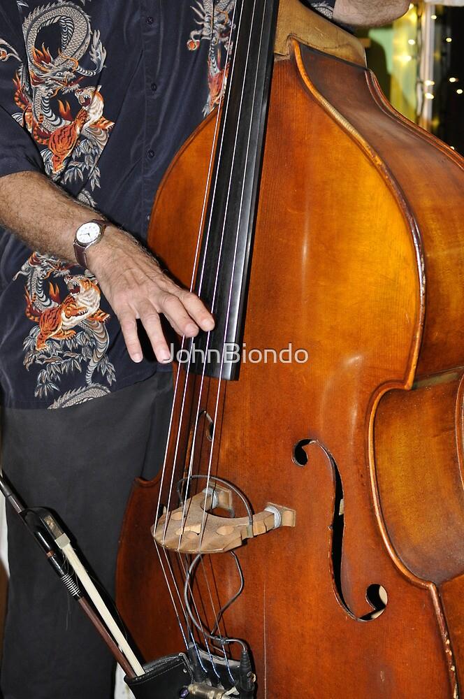 Bass Player by JohnBiondo
