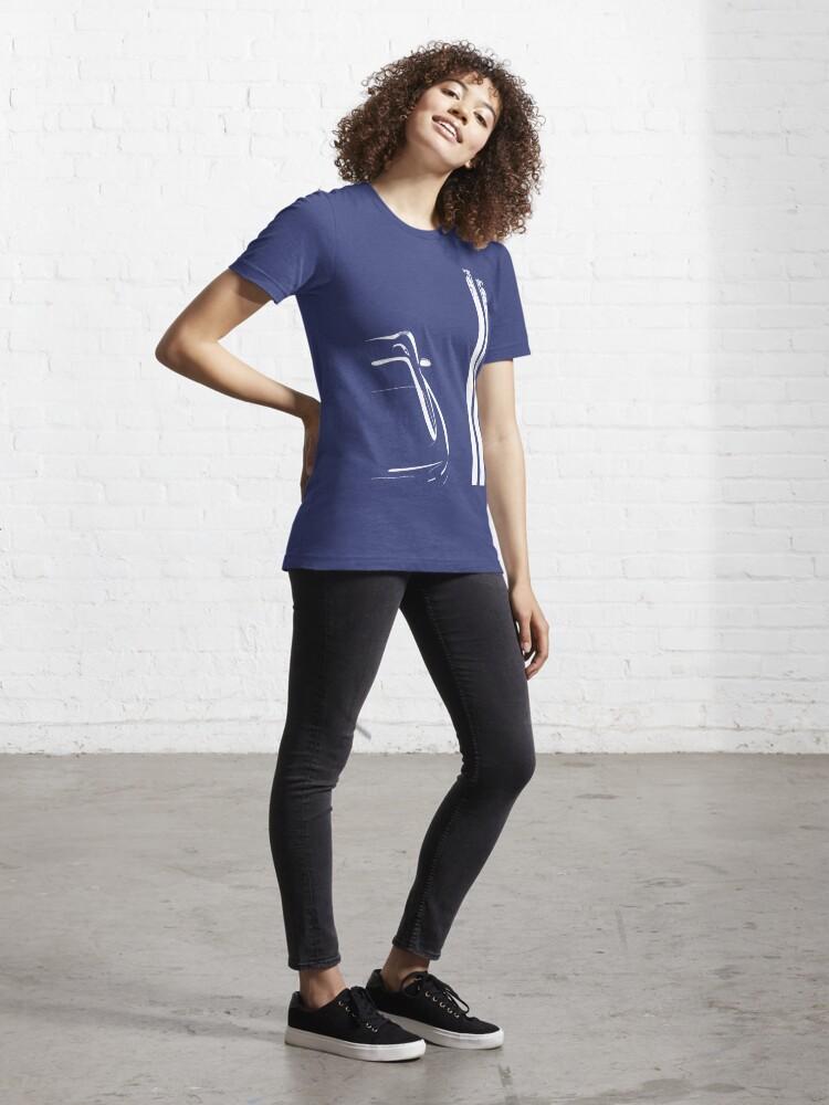 Alternate view of Viper Stripes (Grunge) Essential T-Shirt
