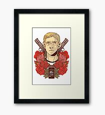 Army Doctor Framed Print