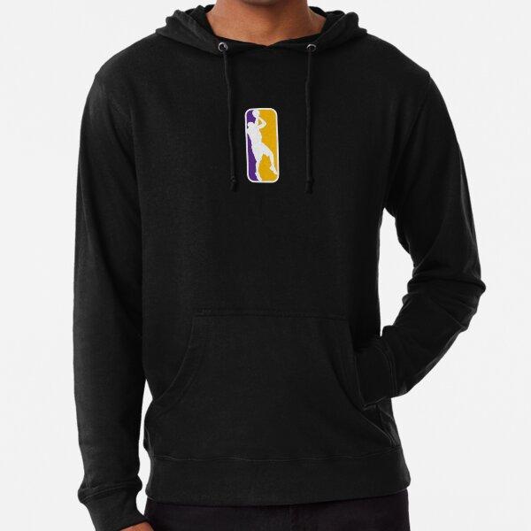 Kobe Bryant Logotipo de la NBA Sudadera ligera con capucha