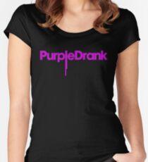 Purple Drank Women's Fitted Scoop T-Shirt