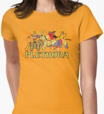 Three Amigos Would you say I have a Plethora of Pinatas? Womens Fitted T-Shirt