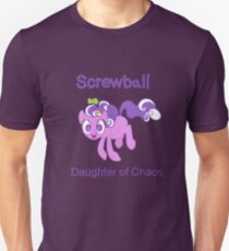 Screwball: The Daughter of Chaos Unisex T-Shirt