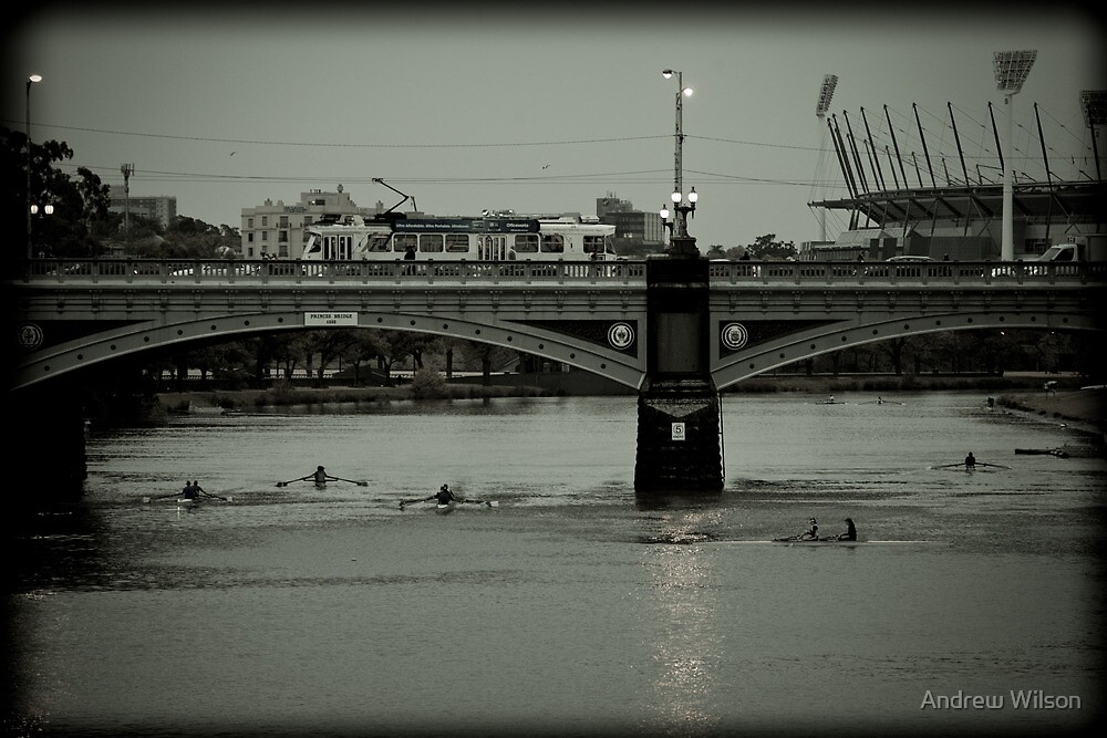 Yarra Morning Traffic by Andrew Wilson