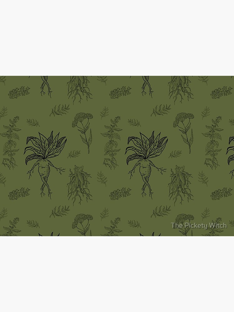 Herbology in Olive by PicketyWitch23