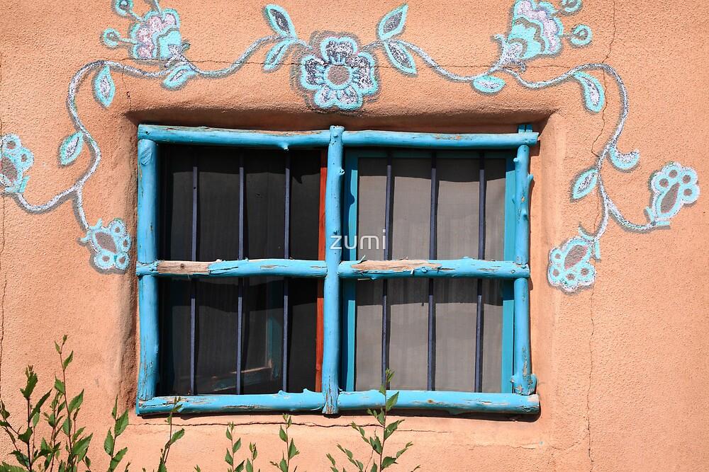 Blue frame by zumi