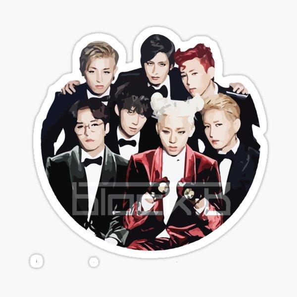 Block B Sticker