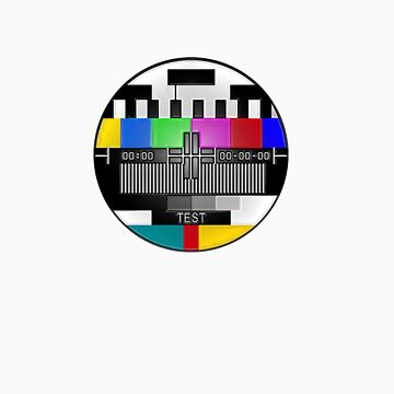 TV test pattern by Tease-Me-Tees