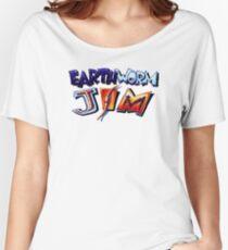 Earthworm Jim (SNES) Title Screen Women's Relaxed Fit T-Shirt